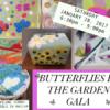 2017 Butterflies in the Garden – Art Gala {annual fundraiser}