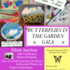 Buy Your Tickets for the 1st Annual Art Gala – Butterflies in the Garden